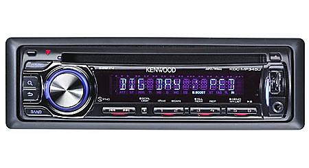 KENWOOD Car Audio KDC-MP345U