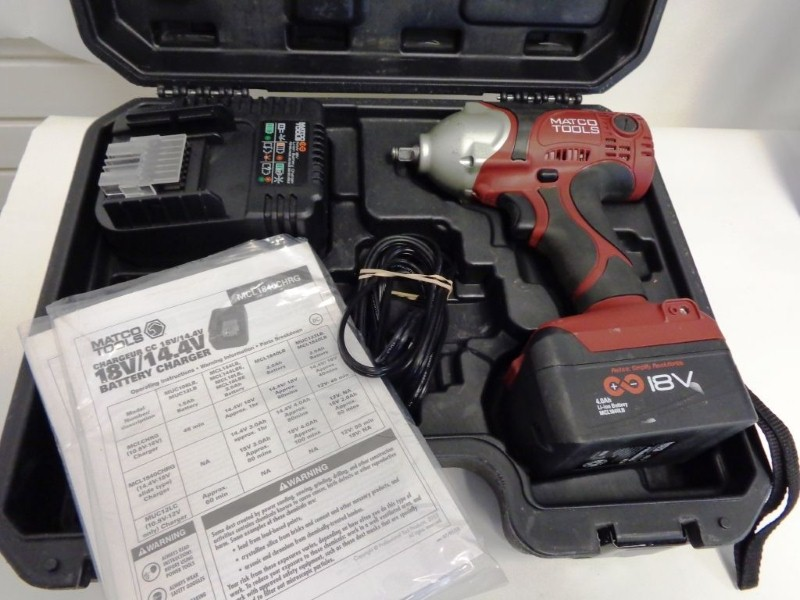 MATCO TOOLS Impact Wrench/Driver MCL1838IW