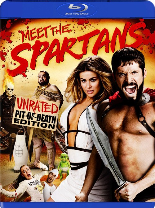 BLU-RAY MOVIE Blu-Ray MEET THE SPARTANS UNRATED