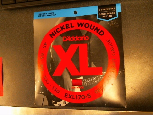 DADDARIO Musical Instruments Part/Accessory EXL170-5