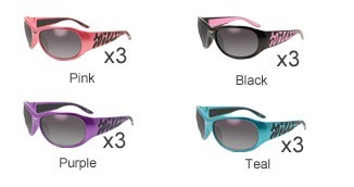 GLOBAL VISION EYEWEAR Sunglasses BELLA CF SM
