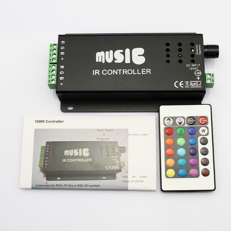 MUSIC INTERFACE TECHNOLOGIES Light LED CONTROLLER