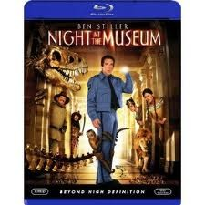 NIGHT AT THE MUSEUM COMEDY BLU-RAY MOVIE, STARRING BEN STILLER