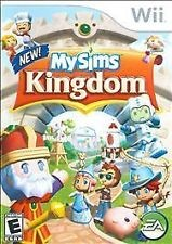 NINTENDO Nintendo Wii Game MY SIMS KINGDOM WII