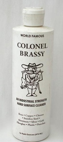 VERTEX INDUSTRIES Accessories COLONEL BRASSY CLEANER