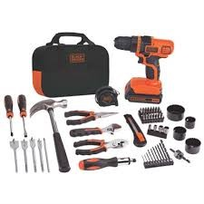 BLACK&DECKER Mixed Tool Box/Set 68 PIECE TOOL SET