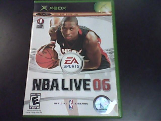 MICROSOFT Microsoft XBOX Game NBA LIVE 06