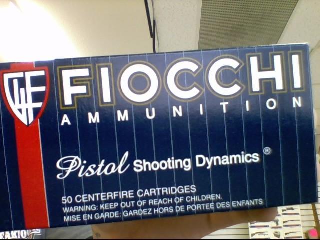 FIOCCHI AMMUNITION Ammunition 357 MAGNUM