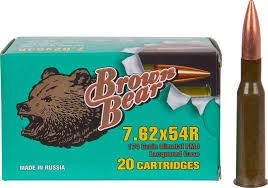 BROWN BEAR AMMO Ammunition 7.62X54R
