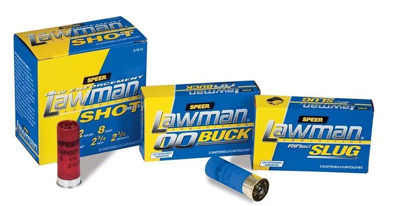 LAWMAN AMMO Ammunition 12 GA SHELLS