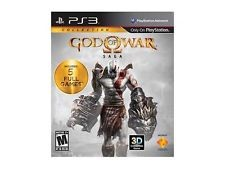 SONY Sony PlayStation 3 Game PS3 GOD OF WAR SAGA COLLECTION