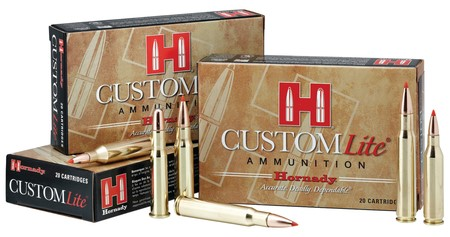 HORNADY Ammunition .30-06 CUSTOM LITE (81066)