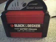 BLACK&DECKER Miscellaneous Tool VEC1086BBD 2/4/6 AMP SMART BATTERY CHARGER