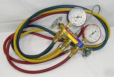 YELLOW JACKET CHARGING MANIFOLD