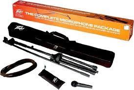 PEAVEY Microphone PV MSP1 XLR MIC-STAND PACK