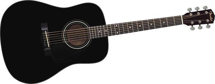FENDER Acoustic Guitar CD-60 BLK