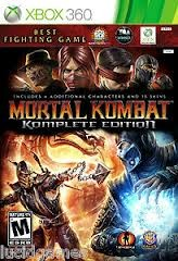 MICROSOFT XBOX 360 Game MORTAL KOMBAT KOMPLETE EDITION