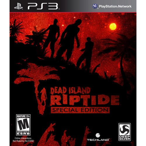 SONY Sony PlayStation 3 Game PS3 DEAD ISLAND RIPTIDE