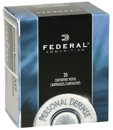 FEDERAL AMMUNITION Ammunition PERSONAL DEFENSE 9MM 115 GR