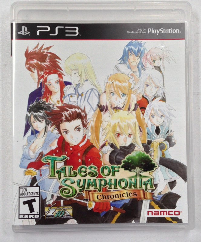 SONY Sony PlayStation 3 Game TALES OF SYMPHONIA CHRONICLES