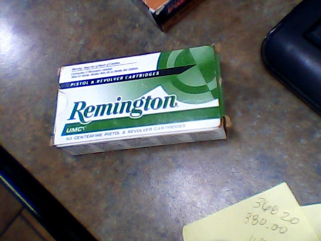 REMINGTON FIREARMS & AMMUNITION Ammunition 32 AUTOMATIC 71 GR
