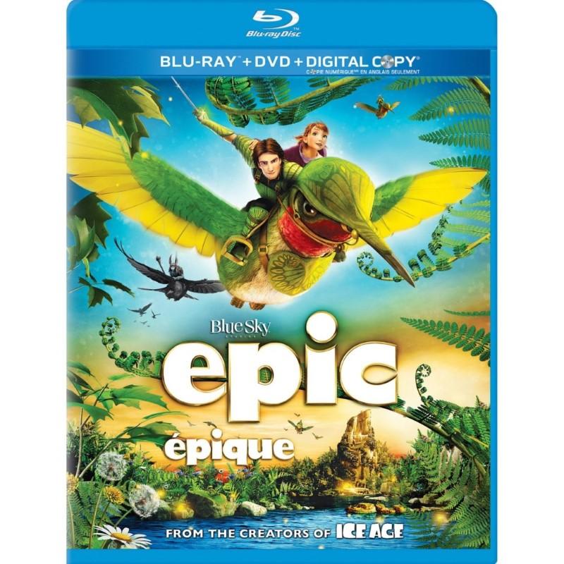BLU-RAY MOVIE Blu-Ray EPIC