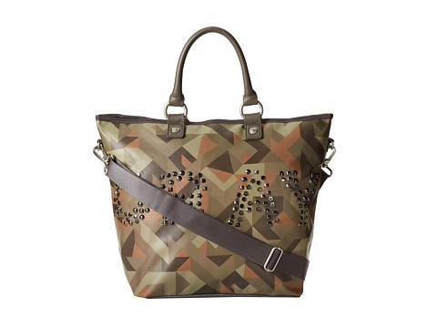 GEORGE GINA & LUCY CAMOU CRAY HOPPER TOTE