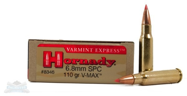HORNADY Ammunition 6.8MM SPC 110GR VMAX