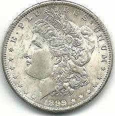 UNITED STATES Silver Coin 1899-O MORGAN