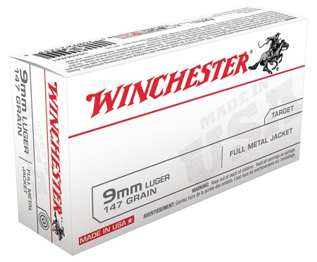 WINCHESTER Ammunition 9MM 147 GR FMJ (USA9MM1)