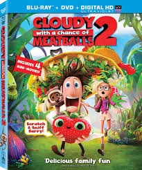 BLU-RAY MOVIE Blu-Ray CLOUDY WITH A CHANCE OF MEATBALLS 2