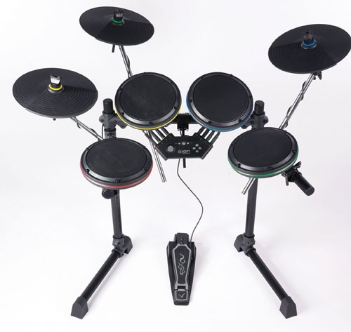 ROCKBAND Video Game Accessory DRUM SET