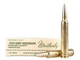 WEATHERBY Ammunition .300 WBY MAG