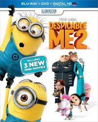 BLU-RAY MOVIE DESPICABLE ME 2