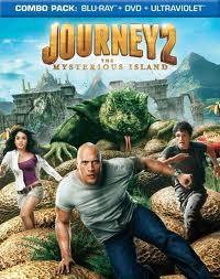 JOURNEY2, THE MYSTERIOUS ISLAND BLU-RAY MOVIE