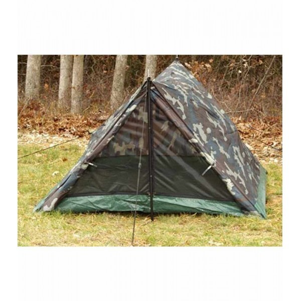 ROTHCO Outdoor Sports CAMO TWO MAN TRAIL TENT