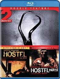 BLU-RAY MOVIE Blu-Ray 2 MOVIES HOSTEL/HOSTEL 2