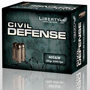 LIBERTY AMMUNITION Ammunition CIVIL DEFENSE 40