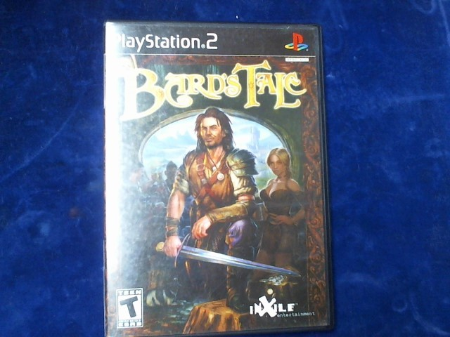 SONY Sony PlayStation 2 Game PS2 THE BARDS TALE