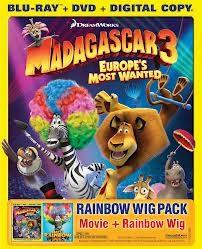BLU-RAY MOVIE MADAGASCAR 3