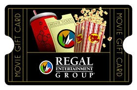 $10 REGAL GIFTCARD