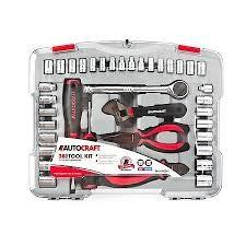 AUTOCRAFT Combination Tool Set 38 PC TOOL KIT