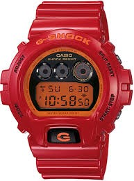 CASIO Gent's Wristwatch G SHOCK 3230 RED