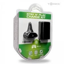 TOMEE Video Game Accessory M05386 XBOX360 STAY N PLAY CHARGE KIT