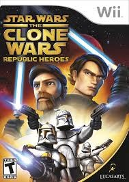 NINTENDO Wii Game STAR WARS THE CLONE WARS REPUBLIC HEROES