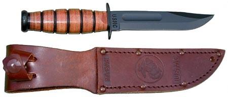 KABAR Hunting Knife USMC US MARINE CORPS KNIFE