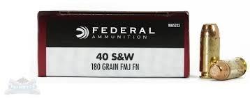 FEDERAL AMMUNITION Ammunition 40 S & W