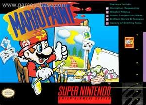 NINTENDO Nintendo SNES Game MARIO PAINT