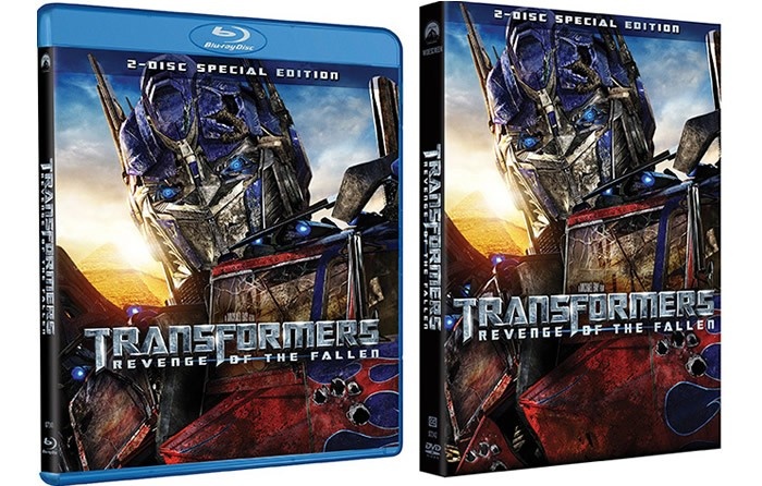 BLU-RAY MOVIE TRANSFORMERS REVENGE OF THE FALLEN