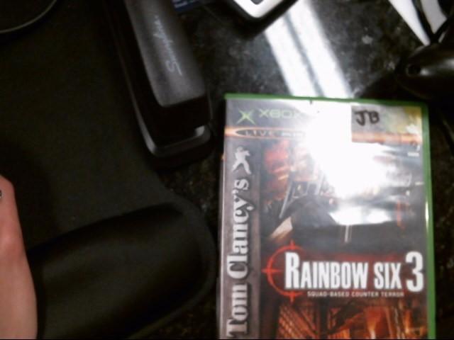 MICROSOFT Microsoft XBOX Game RAINBOW SIX 3 GAME